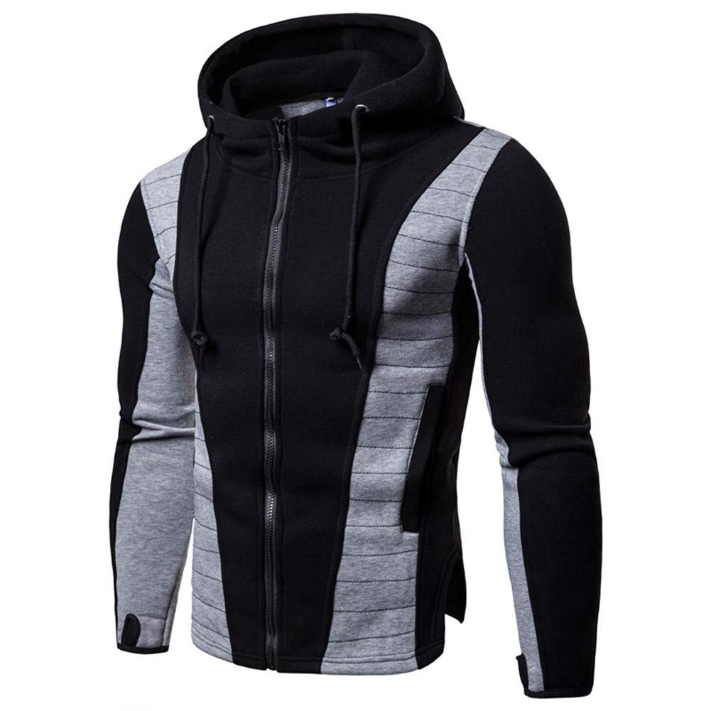 Männer Hoodie - Warm Slim Fit Freizeitkleidung