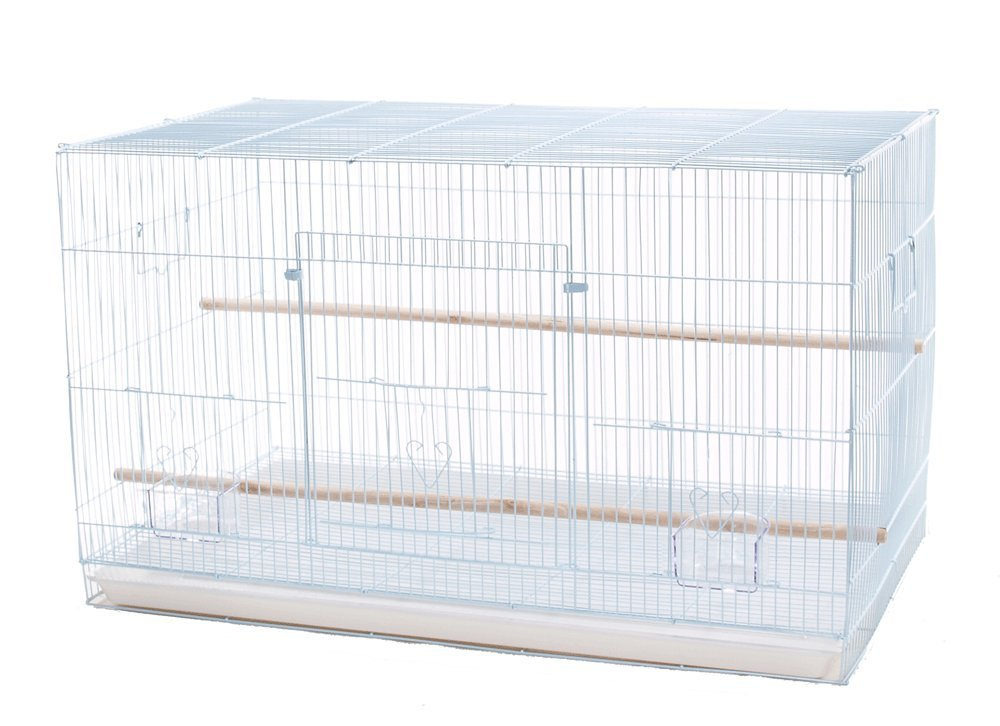 Finch Parakeet Canary Cockatiel Breeder Utility Metal Bird Cage Flight Cage 30 by 18 by 18 inch