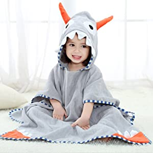 Giveaway: NEWEST Animal Hooded Baby Towel Cotton Bathrobe for Boys...