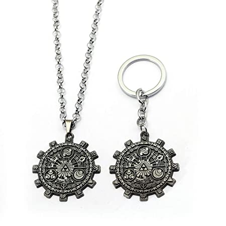 Amazon.com: Mct12 - Legend of Zelda Keychain Gear Pendant ...