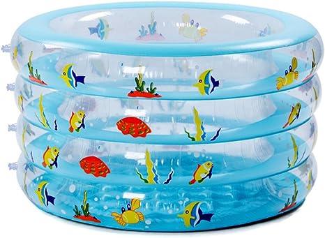 LINAG Niños Piscina Inflable Hinchable Nadando Plegable Portátil ...