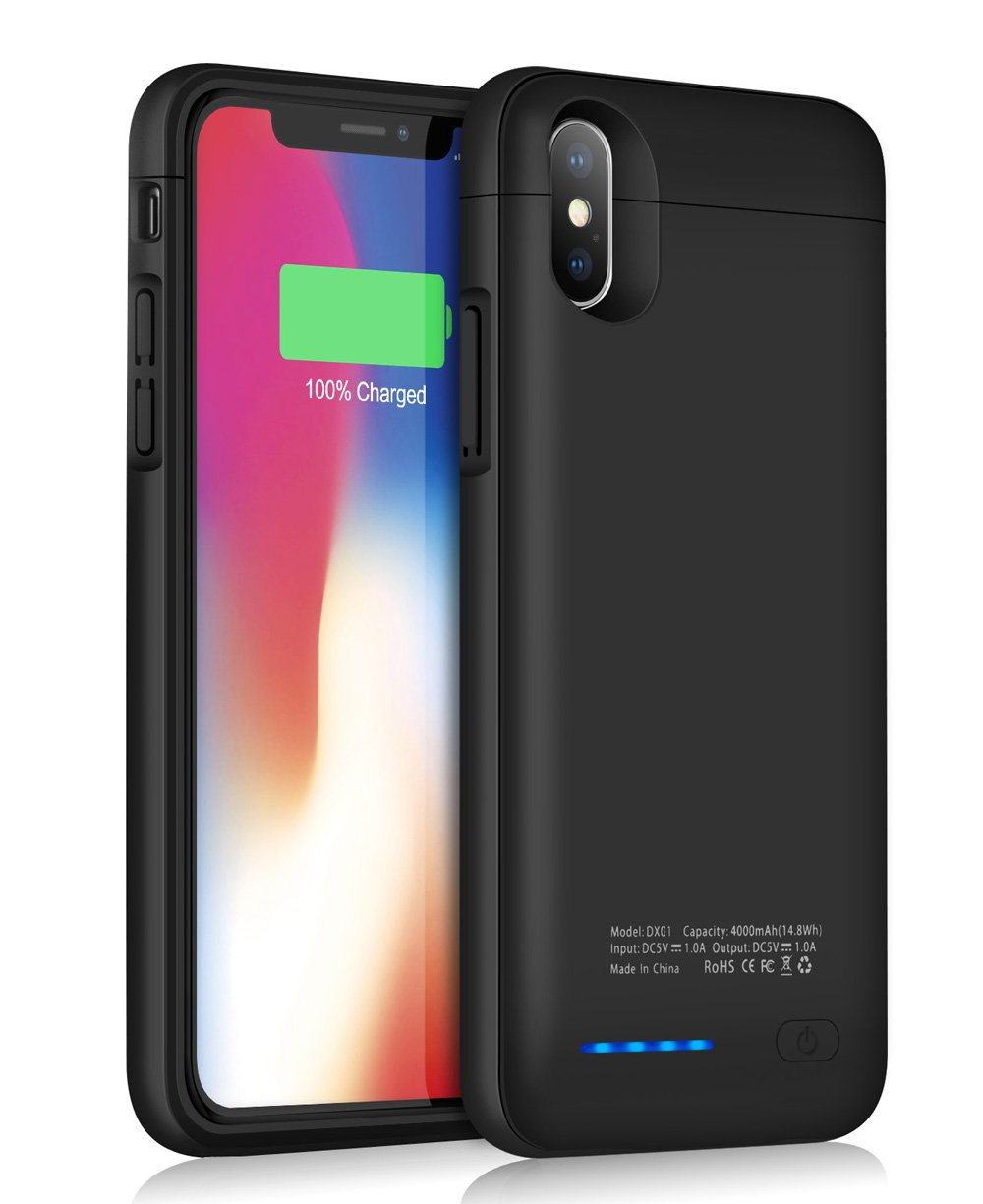 Funda Con Bateria de 4000mah para Apple Iphone X/Xs JUBOTY [77Z2GZ2H]