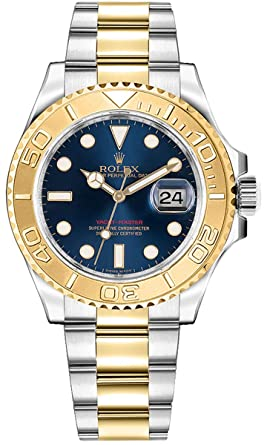 Amazon.com Women\u0027s Rolex Yacht,Master Gold \u0026 Steel 35mm