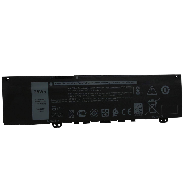 Bateria F62G0 para Dell Vostro 5370/Dell Inspiron 7373 Serie
