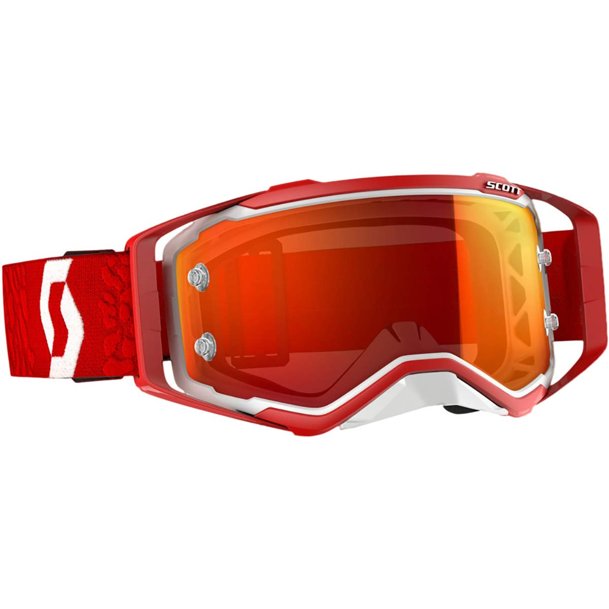 Scott Prospect MX Offroad Goggles White/Red/Orange Scott USA 51-1431
