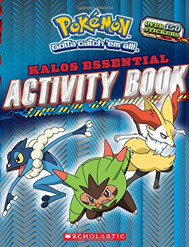 Download Pokemon: Kalos Essential Activity Book (Pokemon) ebook