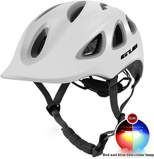 WANGXB mira la Moda Casco Bicicleta,Ocio Estilo Urbano Casco de ...