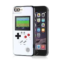 Layopo Gameboy Funda para iPhone, iPhone Consola de Juegos con 36 Juegos pequeños, visualización a Color, diseño Retro 3D Gameboy para iPhone XS/X, iPhone 8/8 Plus, iPhone 7/7 Plus, iPhone 6/6Plus