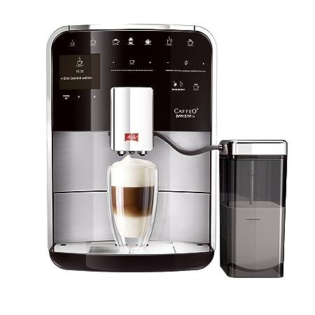 Melitta Caffeo Barista TS RVS - Cafetera (Independiente, Totalmente automática, Espresso machine, Acero inoxidable, TFT, Café, Café expreso, Latte ...