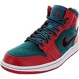 Nike Air Jordan 1 Mid Mens Basketball Shoes 633206-608