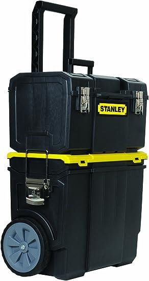 Stanley STST18613 3-in-1 Rolling WorkShop by Stanley: Amazon.es: Bricolaje y herramientas
