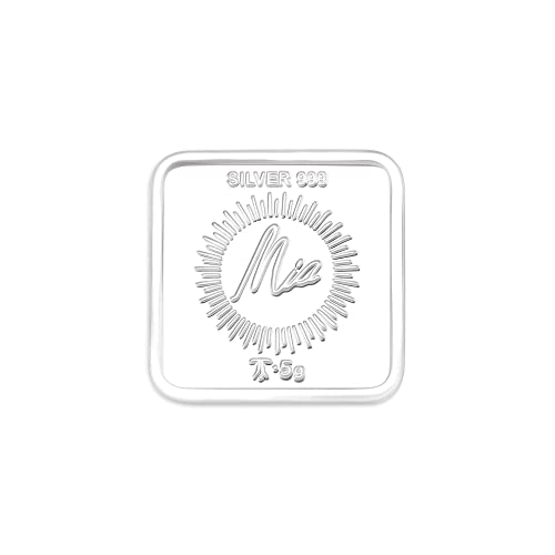 Buy Mia By Tanishq 5 Gm Gayatri Mantra Silver Coin Online At Low Prices In India Amazon Jewellery Store Amazon In
