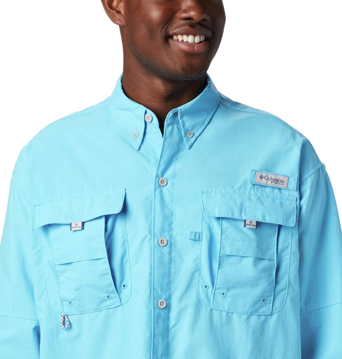 Columbia Sportswear Bahama II Camisa de Manga Larga para Hombre