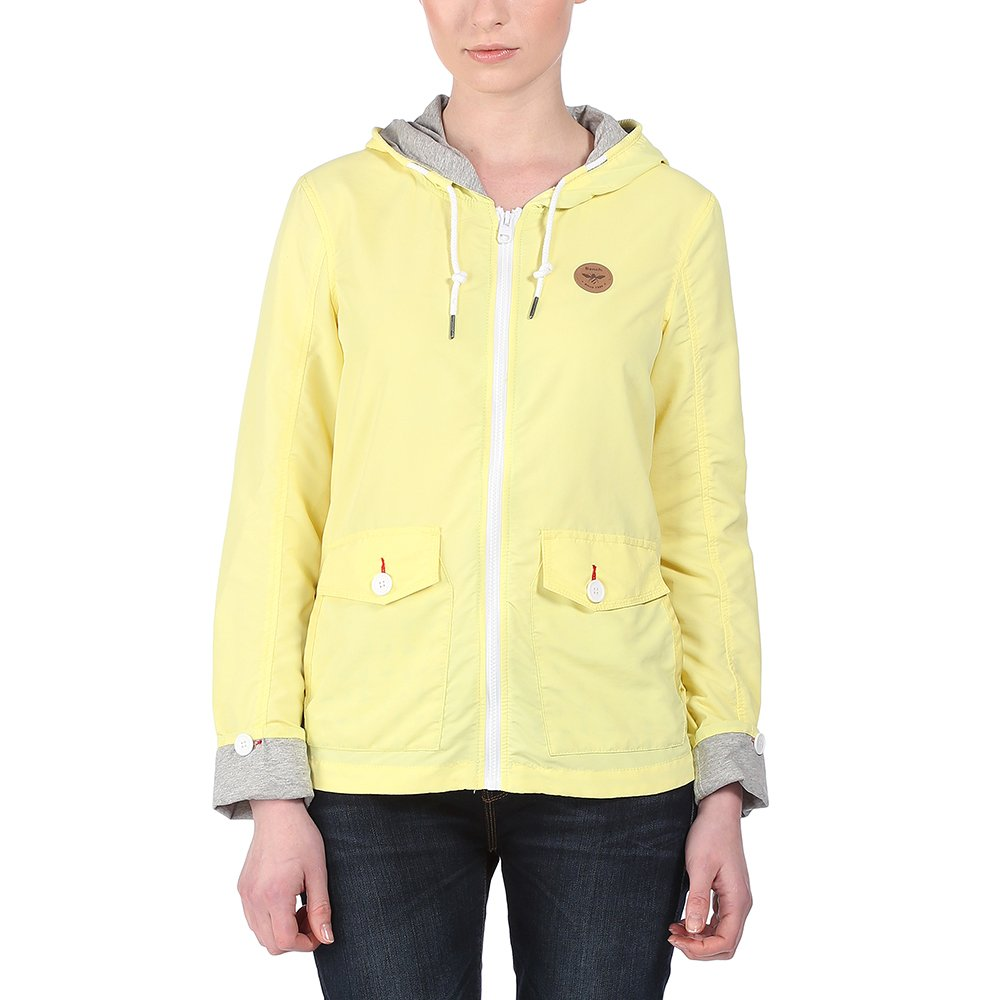 Bench Jacke Summertide – Chaqueta técnica para mujer, color limelight, talla M
