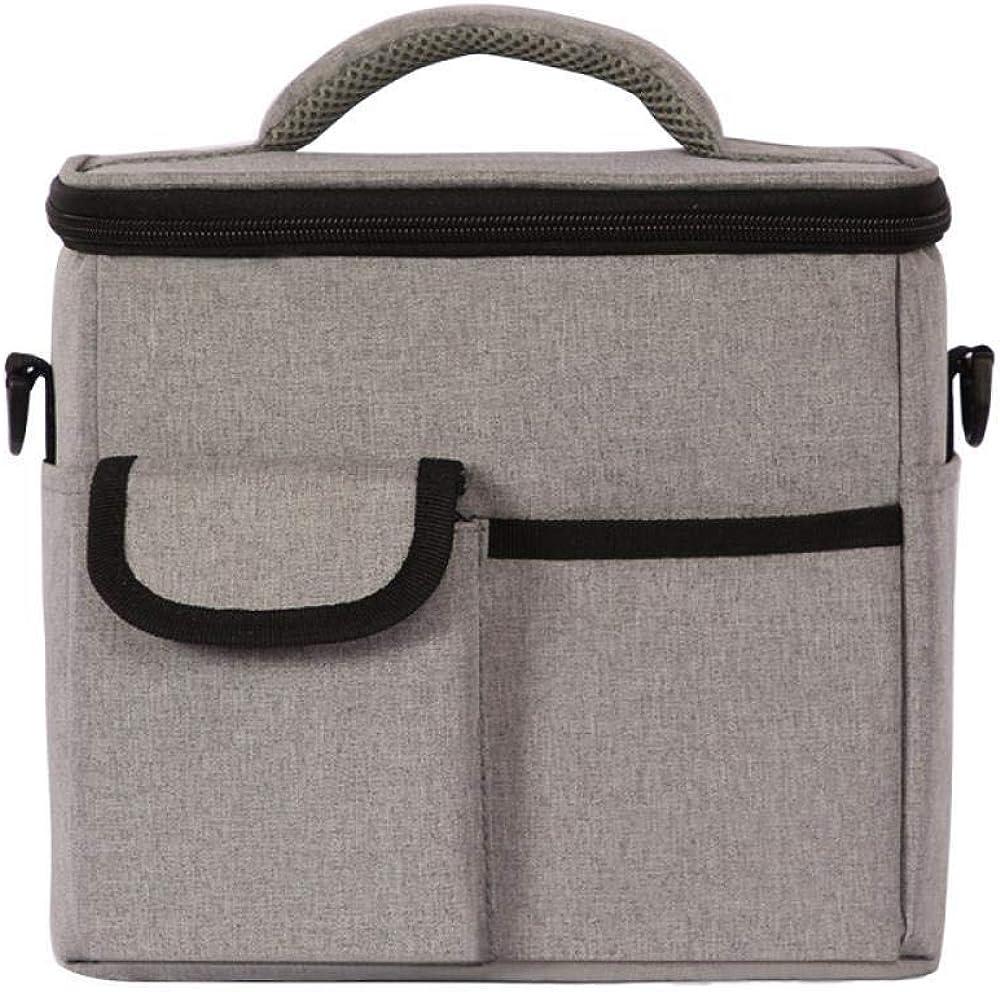 アーバンブルーアルミホイル断熱袋シングルショルダーランチボックスバッグ多機能ランチバッグアイスバッグ