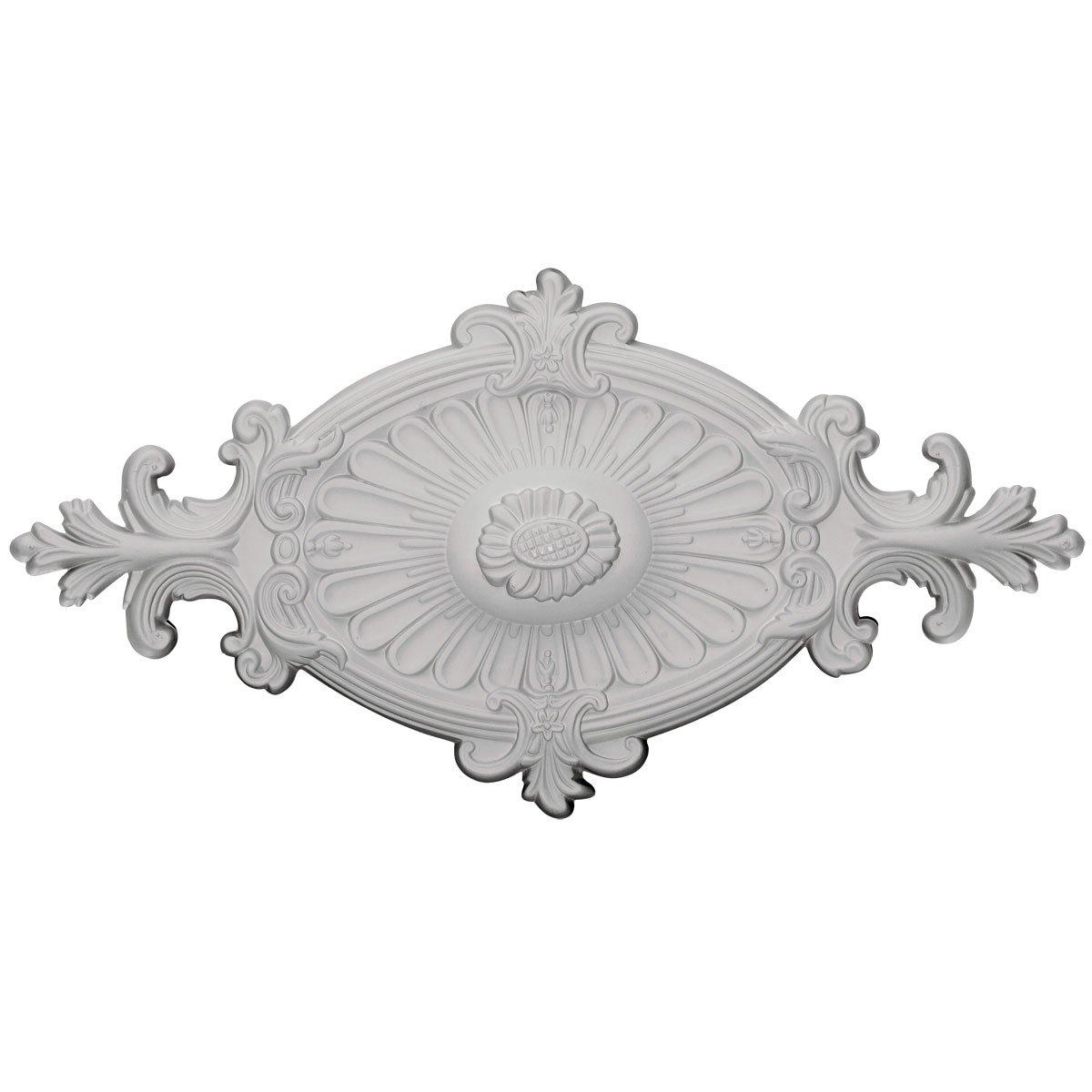 Ekena Millwork CM23RO1 Ceiling Medallion Primed