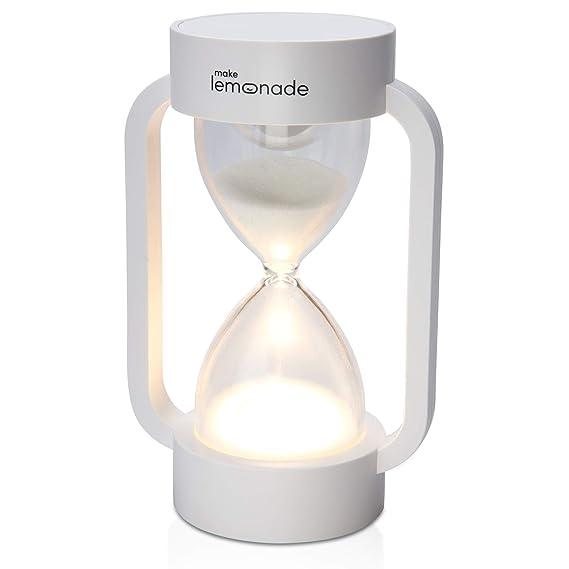 Amazon.com: Make Lemonade - Temporizador de arena para reloj ...