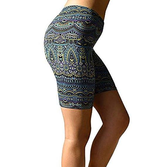 Leggings Mujer 1/2 Pantalones Cortos Deportivos Pantalon ...