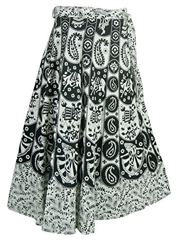 Clothing Cotton Wrap Skirt (Indian Wrap Skirt)