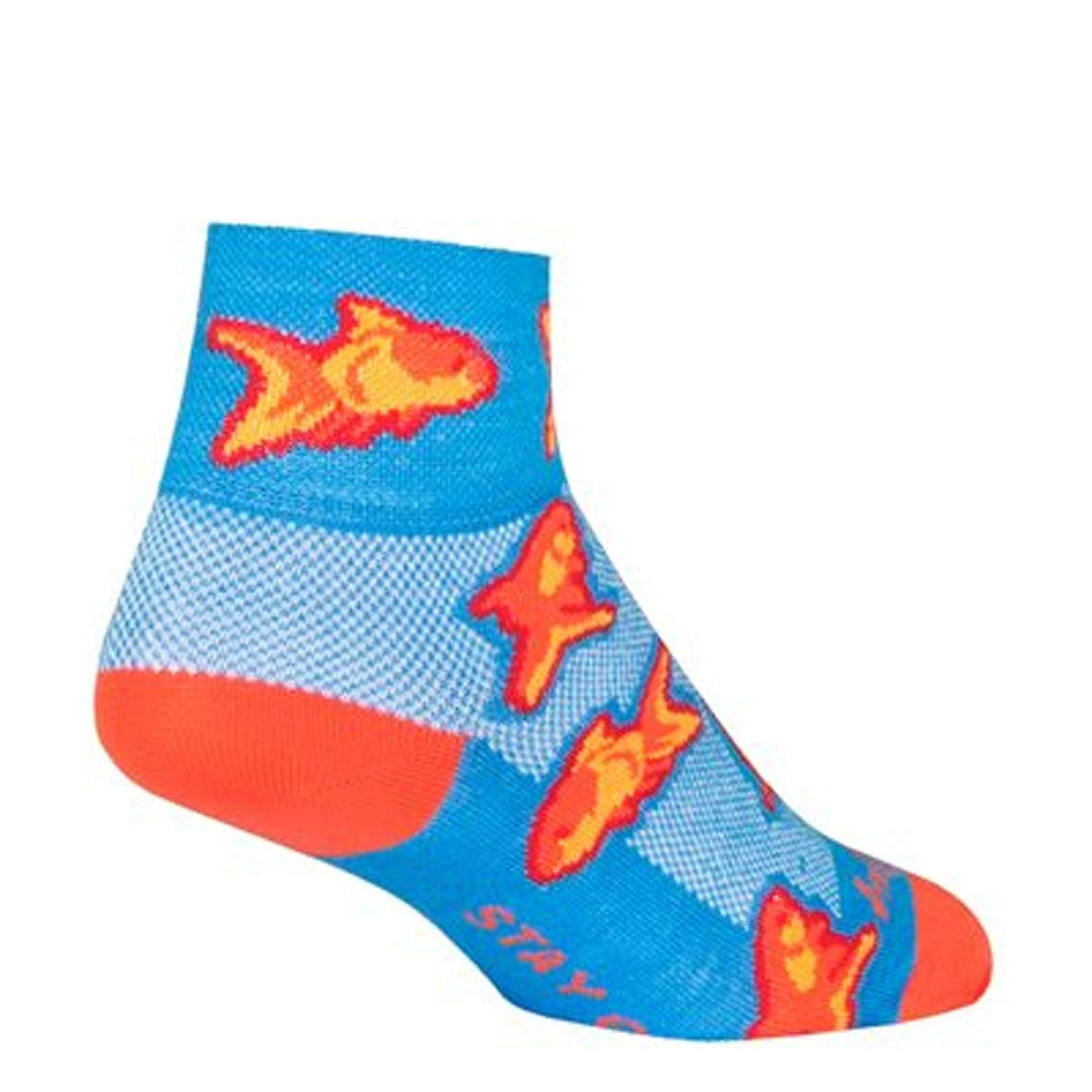 Orange SM//MD New SockGuy Trippin Sock
