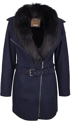 DreiMaster - Abrigo 39036843 - Mujer - M - Azul