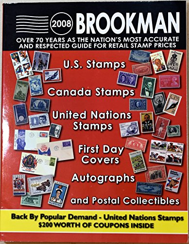 United States Stamps, Canada Stamps, United Nations Stamps, First Day Covers, Autographs & Postal Collectibles: United States & Canada Stamps & Postal ... (Brookman Stamp Price Guide (Spiral)) -