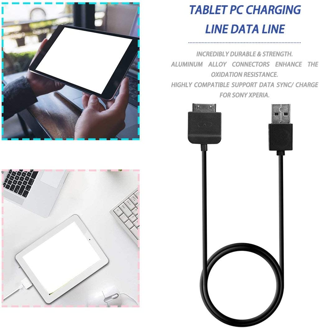 USB Charger Data Sync Charging Adapter Cable for Sony Tablet Xperia SGPT121 122
