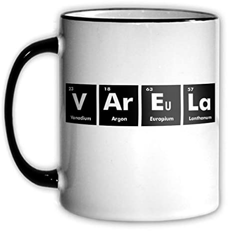 Amazon Varela Periodic Table Coffee Tea Mug With Chemical