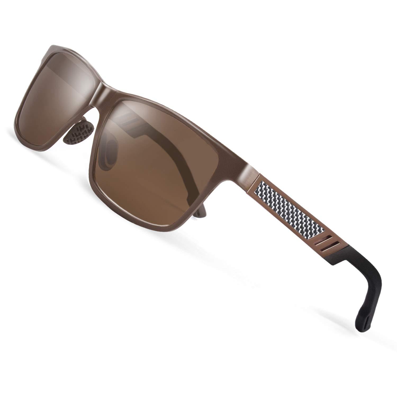 014e65b8a41 CGID GD60 Classic Al-Mg Alloy Frame Polarized Sunglasses UV400 for Mens  Womens product image