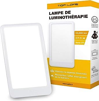 Tageslichtlampe 10000 Lux Lichttherapie Lampe Zur Ausgleich Von Lichtmangel Lichtleuchte Gegen Die Saisonal Abhangige Depression Sad Amazon De Beleuchtung