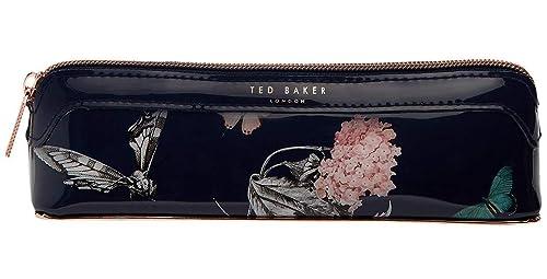 brand new 89224 ff0c5 Ted Baker Narrnia Pencil Case/Make Up Brush Case in Dark Blue ...