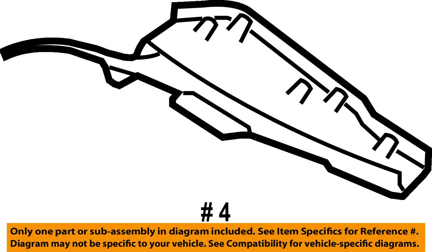 General Motors Deflector 15794785 Automotive 1999 Chevy Monte Carlo Engine Diagram
