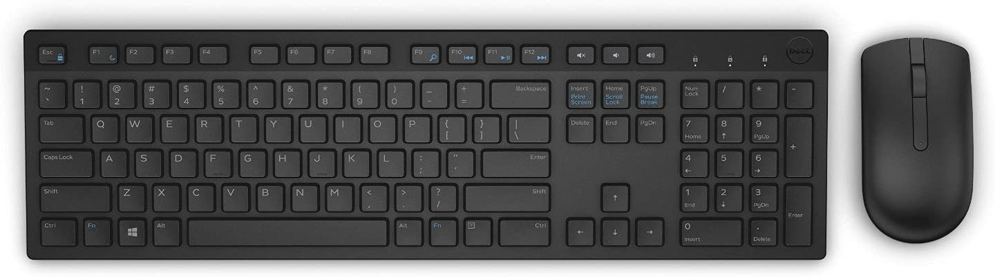 Dell KM636-BK-US Wireless Keyboard & Mouse Combo (580-ADTY)
