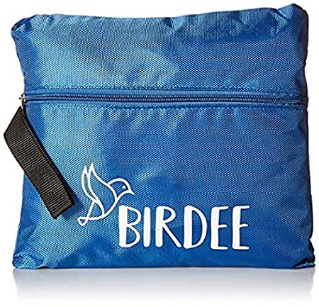 Black Birdee Car Seat Travel Bag for Airplane Gate Check and Carrier for Travel
