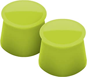 Tovolo Wine Cap, Spring Green, Set of 2