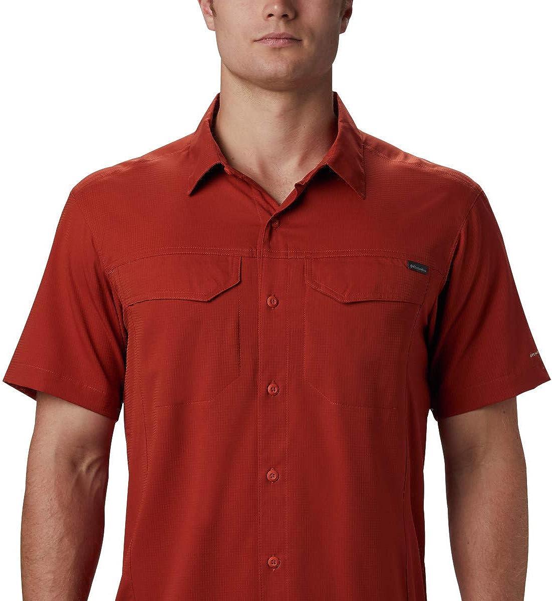 COLUMBIA Silver Ridge 2.0 EM0648464 Outdoor Casual Short Sleeve Shirt Mens New