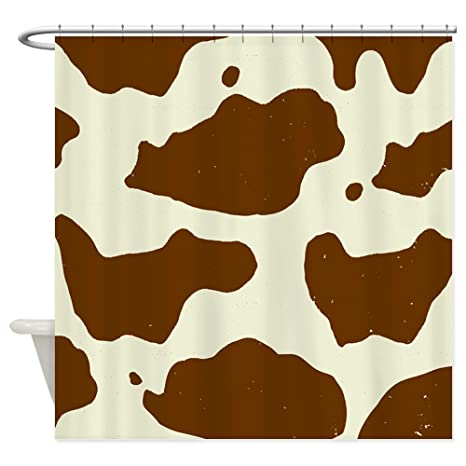 Image Unavailable Not Available For Color CafePress Cowhide Shower Curtain