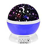 Amazon Price History for:Night Lighting Lamp [ 4 LED Beads, 3 Model Light, 4.9 FT(1.5 M) USB Cord ] Romantic Rotating Cosmos Star Sky Moon Projector , Rotation Night Projection for Children Kids Bedroom(Purple)