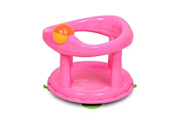 Safety 1st Swivel Bath Seat - Pink: Amazon.ca: Baby