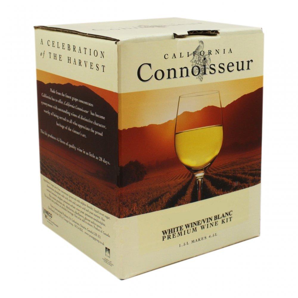 Home Brew & Wine Making - White Wine Ingredient Kit - California Connoisseur - Pinot Grigio 6 Bottle Balliihoo Homebrew