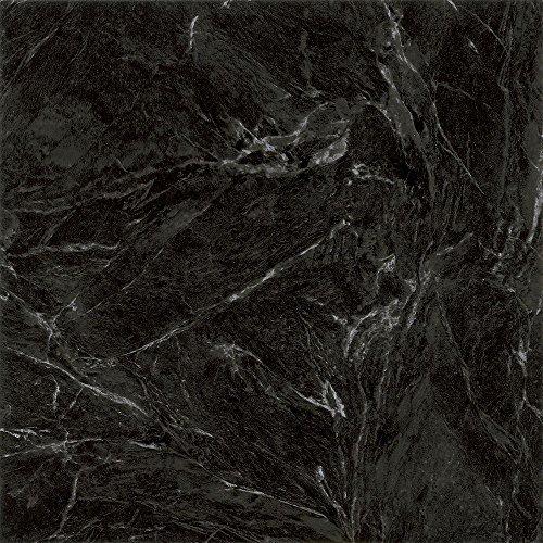 Black Marble 12 in. x 12 in. Peel and Stick Vinyl Tile