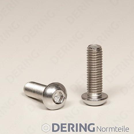 Linsenkopfschrauben ISO 7380-1 M10x16 V2A rostfrei 10St