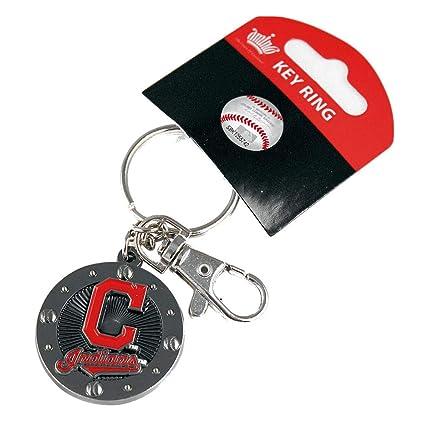 Amazon.com: MLB Cleveland Indians Impacto Llavero: Sports ...