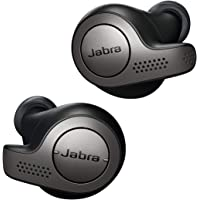 Jabra Elite 65t Alexa Enabled True Wireless Earbuds with Charging Case (Black) - Manufacturer Refurbished