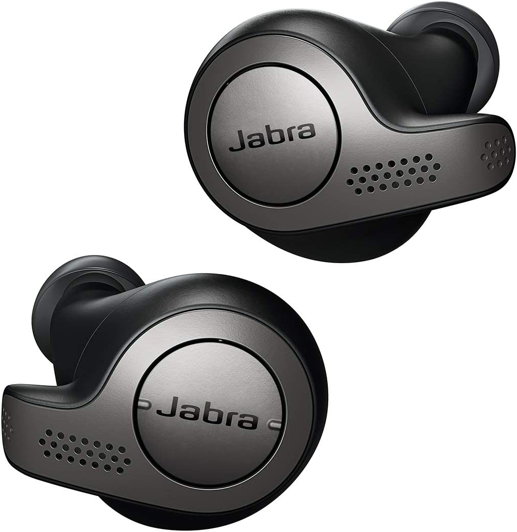 Amazon Com Jabra Elite 65t Alexa Enabled True Wireless Earbuds With Charging Case Titanium Black Renewed