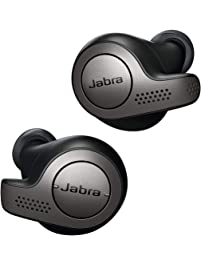 Jabra Elite 65t Alexa Enabled True Wireless Earbuds Charging Case  – Titanium Black