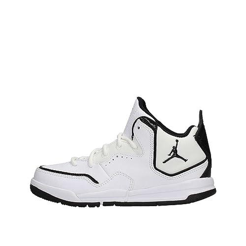 NIKE Scarpe Sneakers Jordan Courtside 23 Bambini Ragazzi Bianco ... feb4c2f610d