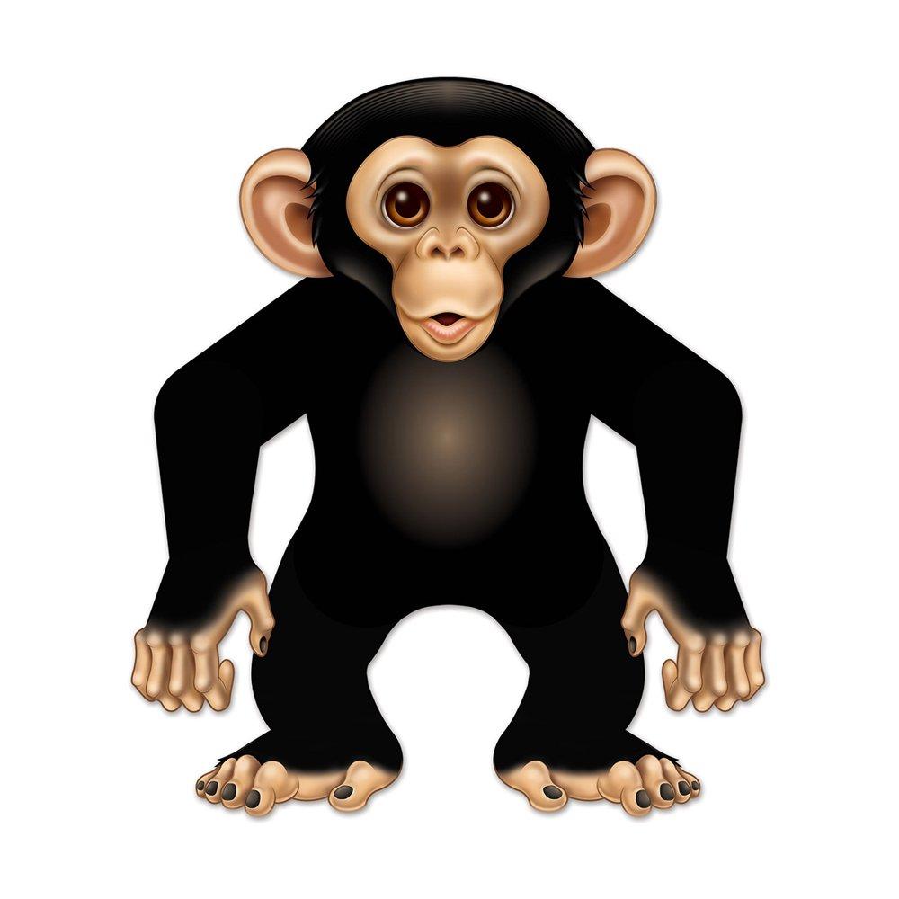 Beistle Home Party Dekoration Jointed Monkey 55,9 cm 12 Stück
