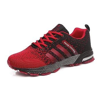 YAYADI Las Mujeres Zapatillas De Deporte Al Aire Libre En Verano Mujer Transpirable Luz Zapatillas Zapatillas Atletismo Profesional Adulto Unisex: ...