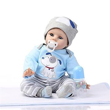 GAW Toys Muñecas Reborn de Silicona al por Mayor Realista bebé Niños Recién Nacidos Moda Muñeca